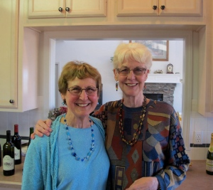 Shirley and Barbara