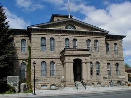 The old Carson City Mint, which is now the original part of the Nevada State Museum and Jerri's and my new adventure site