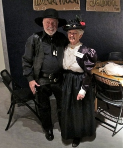 Elizabeth Money (married to Montgomery Money, an investor from Back East who wants to buy the Deadwood Saloon and turn it into a Sally Starrbucks coffee house) and Jessie Wales, her real husband