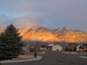 An April Fool's Dawn on the Sierras