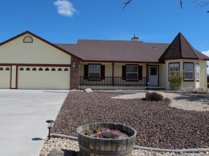 The house was officially finished on March 31, 2014.  This is the finished product.