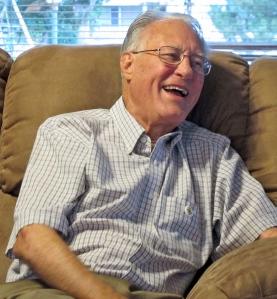A happy Uncle Bev