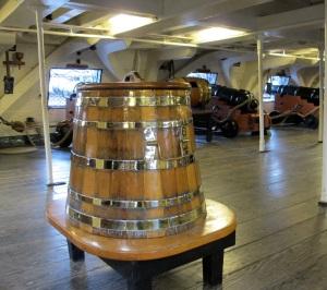 The grog barrel
