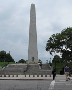 Bunker Hill Monument - very similar to the Washington Monument in D.C.