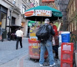 The Nut Roasters kiosk
