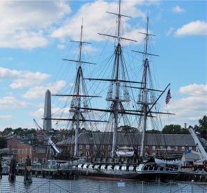 The USS Constitution and the Bunker Hill Monument