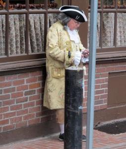 Ben Franklin - ever a modern man!