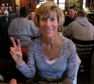 Jerri liked her lunch at Freestone's