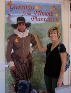 Jerri and her handsome Pilgrim