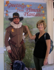 Jerri and her handsome Pilgrim