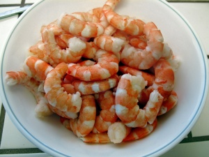 ...and the shrimp