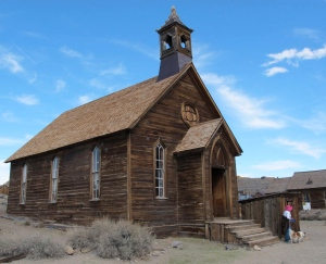 The Methodist church was erected in 1882 and was the only Protestant church in Bodie.