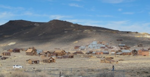 What's left of the boomtown of Bodie, CA. (Don't forget to click on the photo to enlarge it)