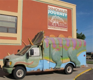 The next morning, we drove to Dinosaur Journey in Fruita, CO that is one-third of the Museum of Western Colorado.