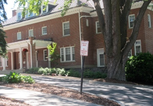 The WSU president's home