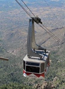 The Sandia tram