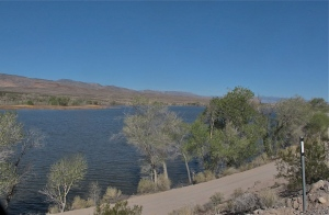 Upper Lake at the Pahranagat NWR