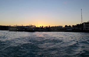 This was the view of the little port as we wended our way back to the Galaven that was anchored in the bay.