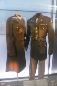 Army uniforms like the one Dad wore