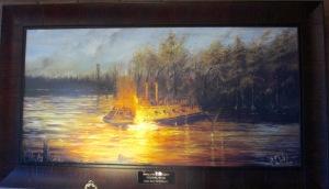 Cairo sinking painting