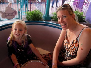 Taking a spin in the Mad Hatter's tea cups