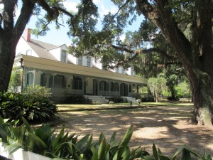 The Myrtles, named for the Crepe Myrtles on the property, was built 1796. Its veranda is 125 feet long
