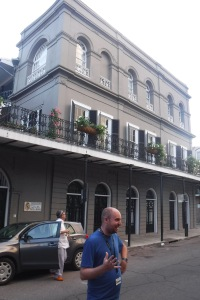 A haunted house in the French Quarter