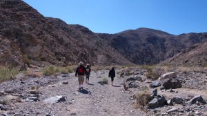 Our hike was gentle with having to camber over only a few boulders and rocks.